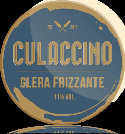 Ozdobny medalion Culaccino Wino Prosecco Glera Frizzante