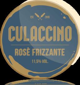 Ozdobny medalion Culaccino Wino Prosecco Rose Frizzante