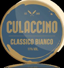 Ozdobny medalion Culaccino Wino Białe Classico Bianco