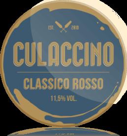 Ozdobny medalion Culaccino Wino Czerwone Rosso Classico
