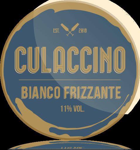Ozdobny Medalion Wino Culaccino Bianco Frizzante