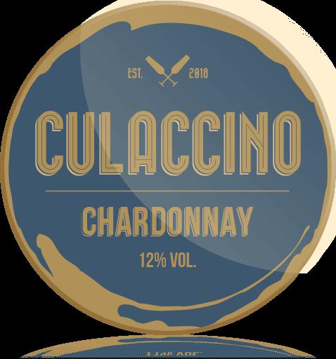 Ozdobny Medalion Wino Culaccino Chardonnay