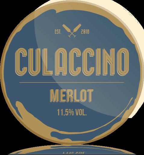 Ozdobny Medalion Wino Culaccino Merlot
