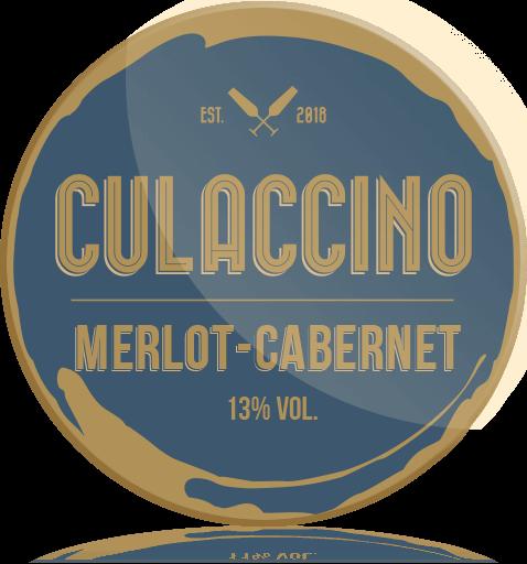 Ozdobny Medalion Wino Culaccino Merlot Cabernet