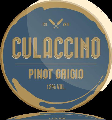 Ozdobny Medalion Wino Culaccino Pinot Grigio